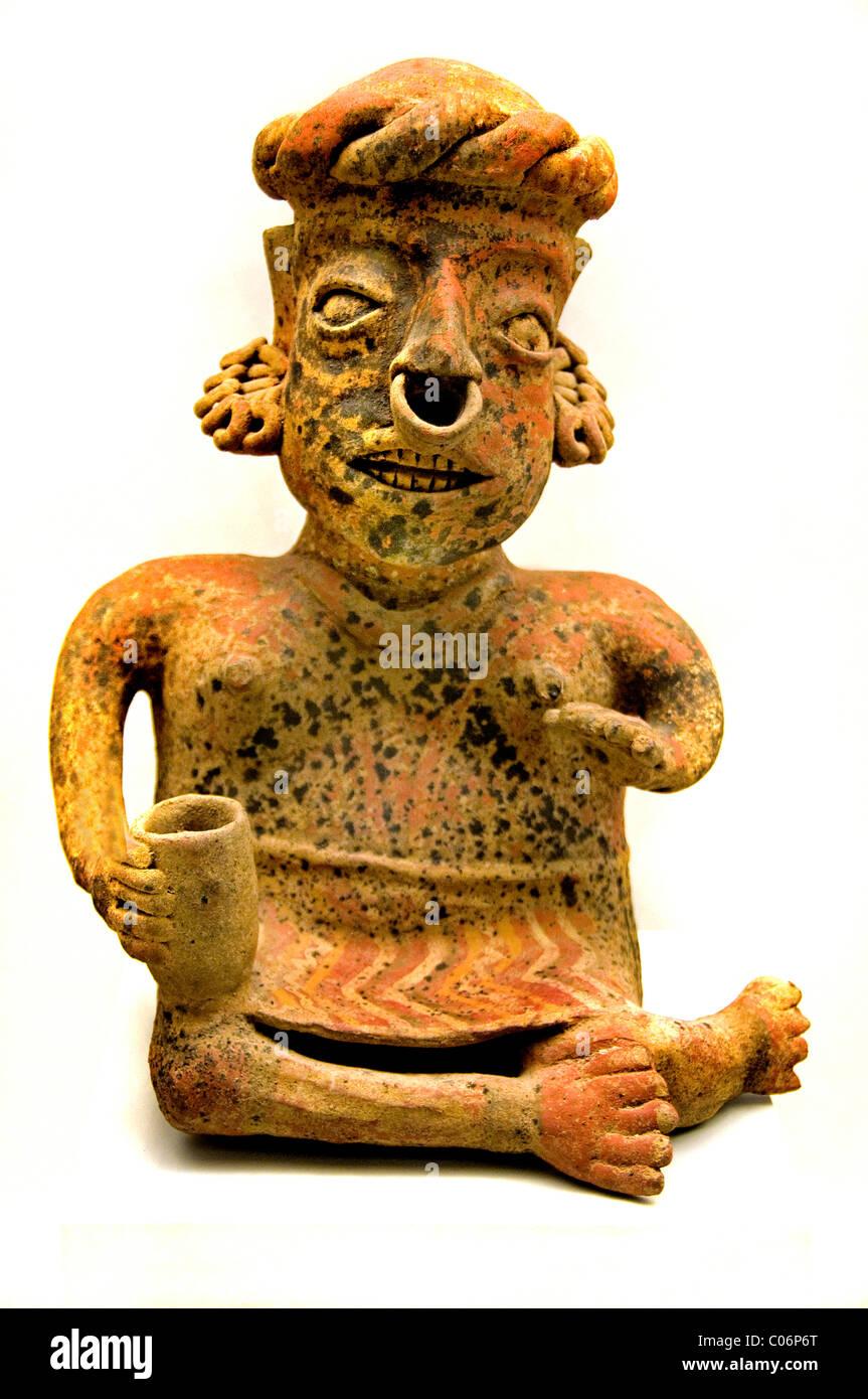 Valle de Oaxaca Zapoteca Monte Alban 100 700 AD Mexico Mexican - Stock Image