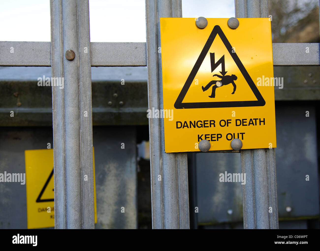 Electrical Danger Sign Stock Photos Amp Electrical Danger