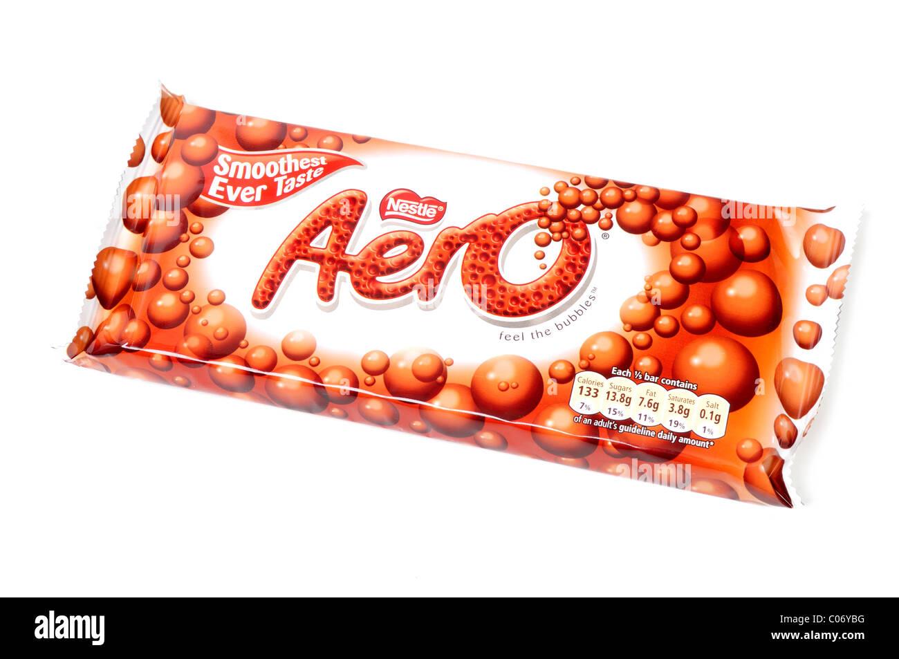Aero Chocolate Bar. - Stock Image