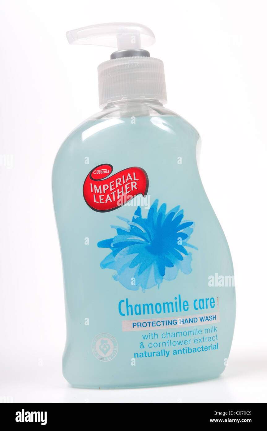 Imperial Leather Hand Wash. - Stock Image