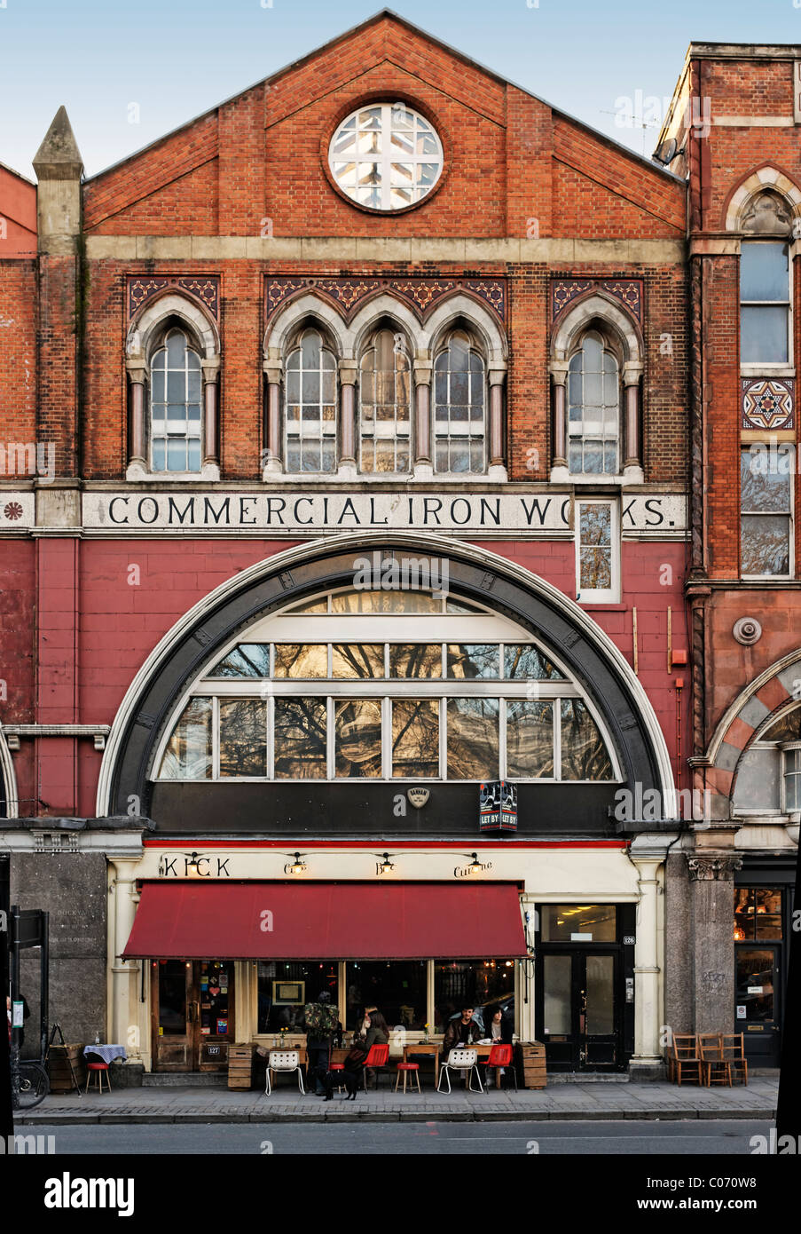 Shoreditch Bars: Kick Bar Shoreditch In The Old Commercial Iron Works