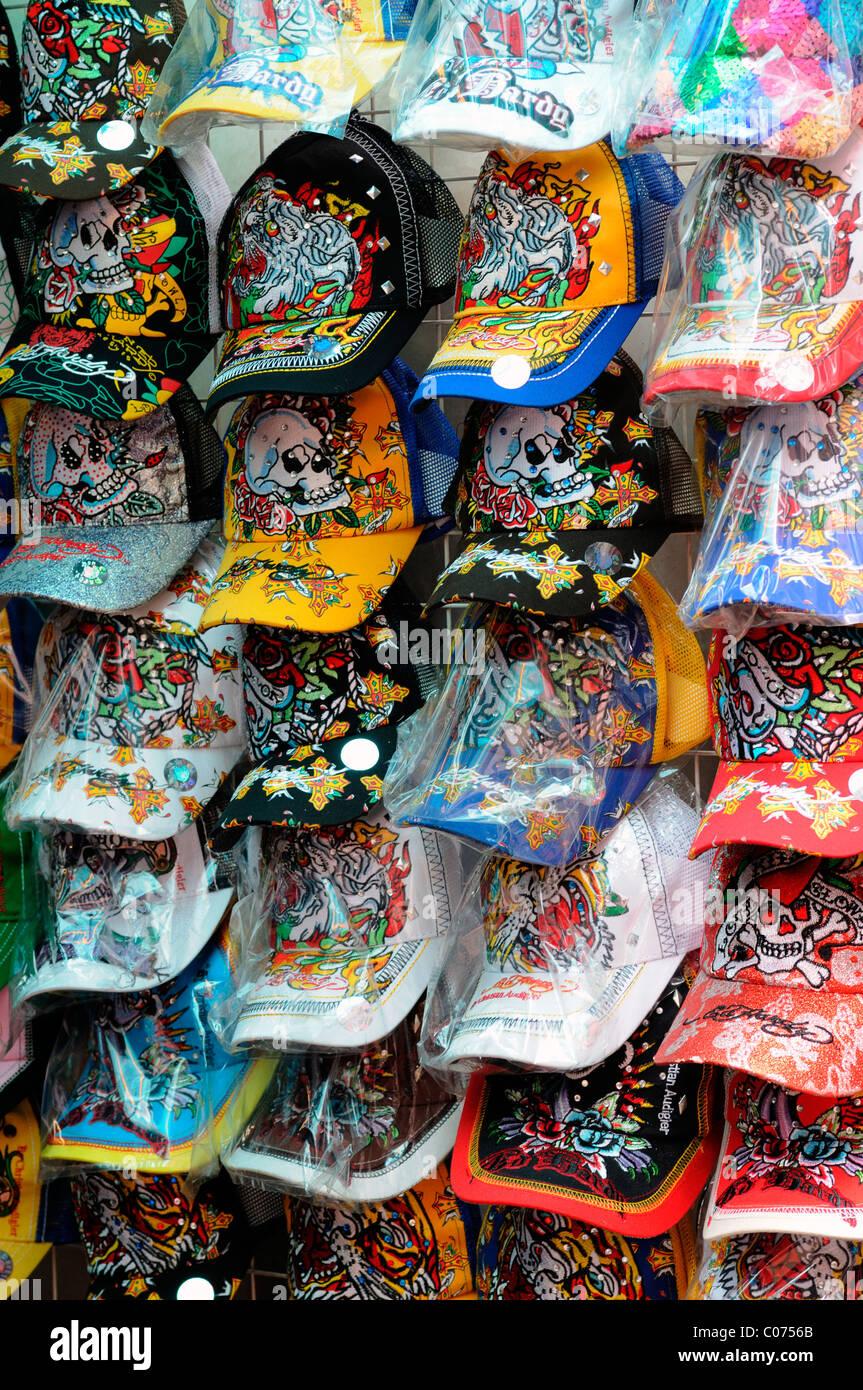 fake designer pirate pirated luxury goods on sale stall petaling street  chinatown kuala lumpur malaysia baseball 2a61b6d43092