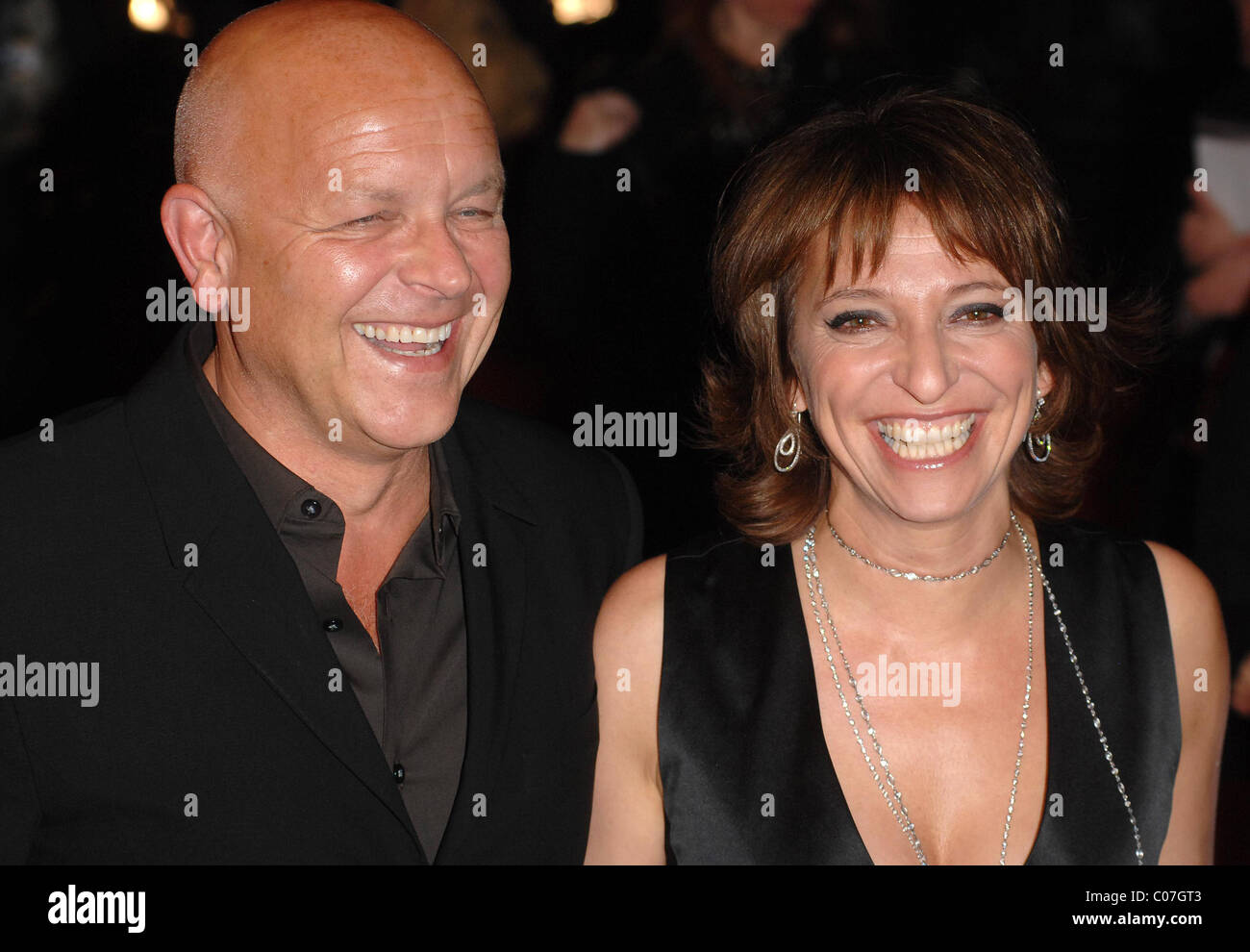 Director Susanne Bier and husband Jesper Winge Leisner The Times BFI London Film Festival: Things We Lost in the Stock Photo