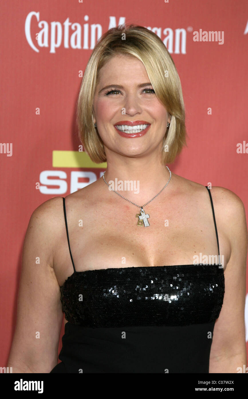 Kristy Swanson Spike TV's 'Scream 2007' awards held at the Greek Theater Los Angeles,  California - - Stock Image