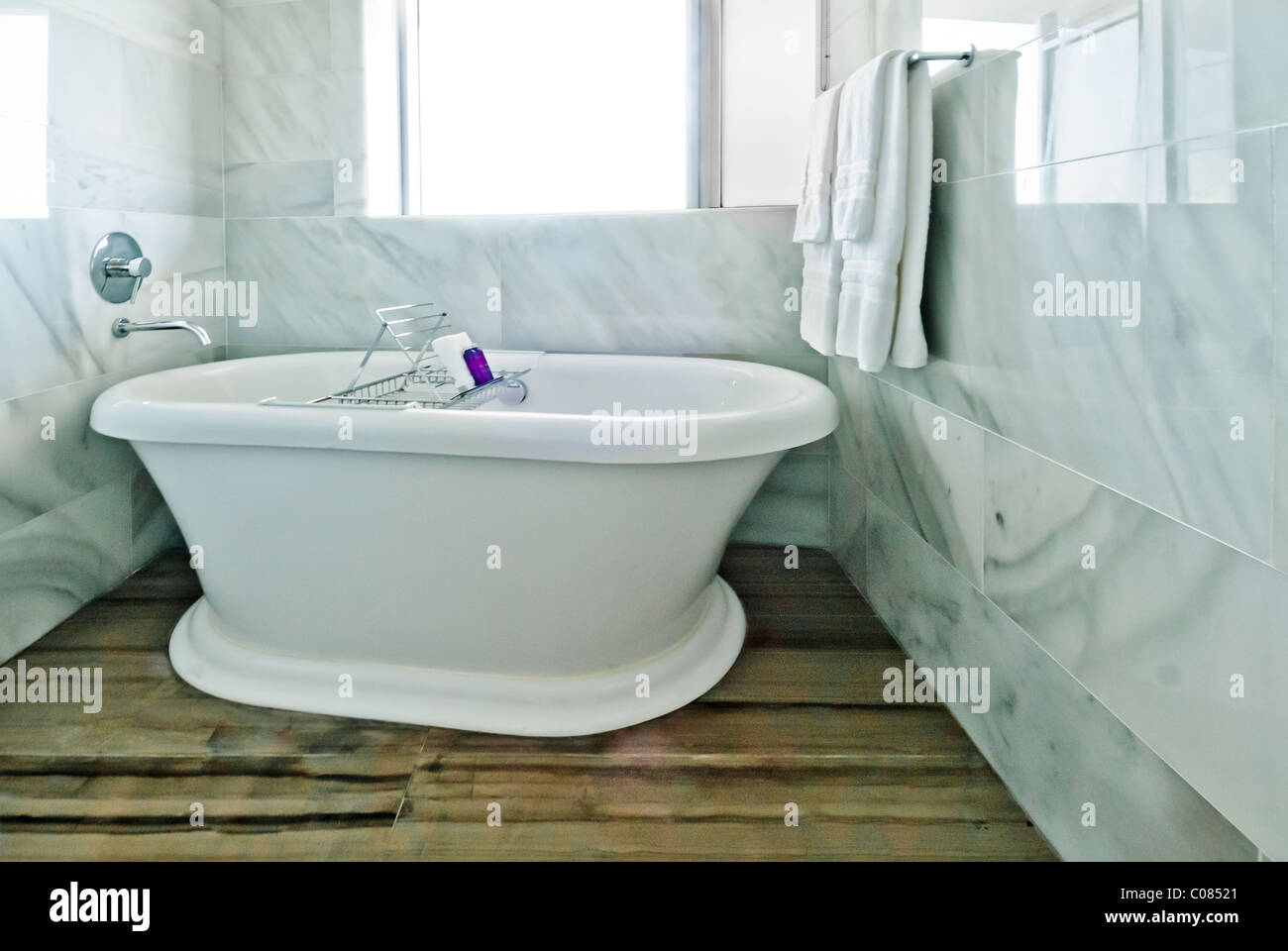 Bathtub In Tempo Miami, A Rock Resorts Luxury Hotel Overlooking Biscayne  Bay In Miami, Florida, USA