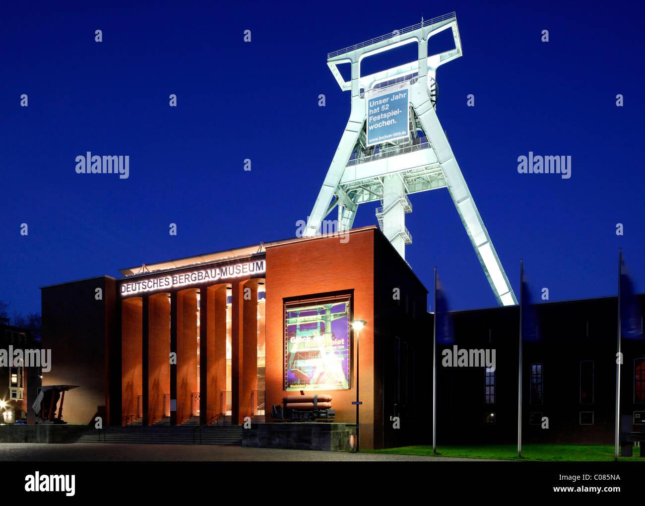 German Mining Museum, Bochum, Ruhr Area, North Rhine-Westphalia, Germany, Europe - Stock Image