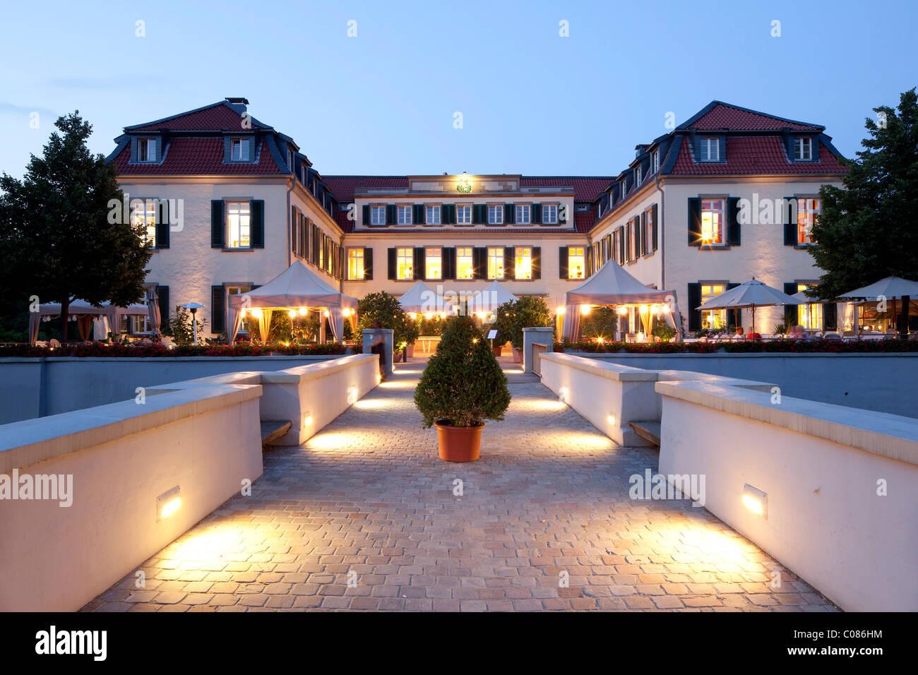Schloss Berge Palace, Gelsenkirchen, Ruhr Area, North Rhine-Westphalia, Germany, Europe - Stock Image