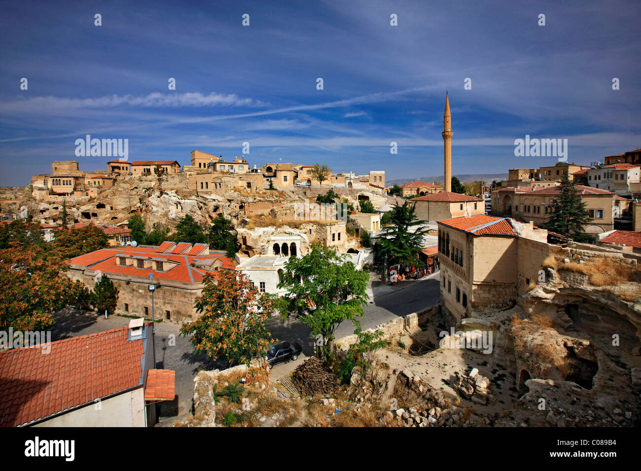 Sinasos ('Mustafapasa') one of the most beautiful towns in Cappadocia, Nevsehir, Turkey - Stock Image