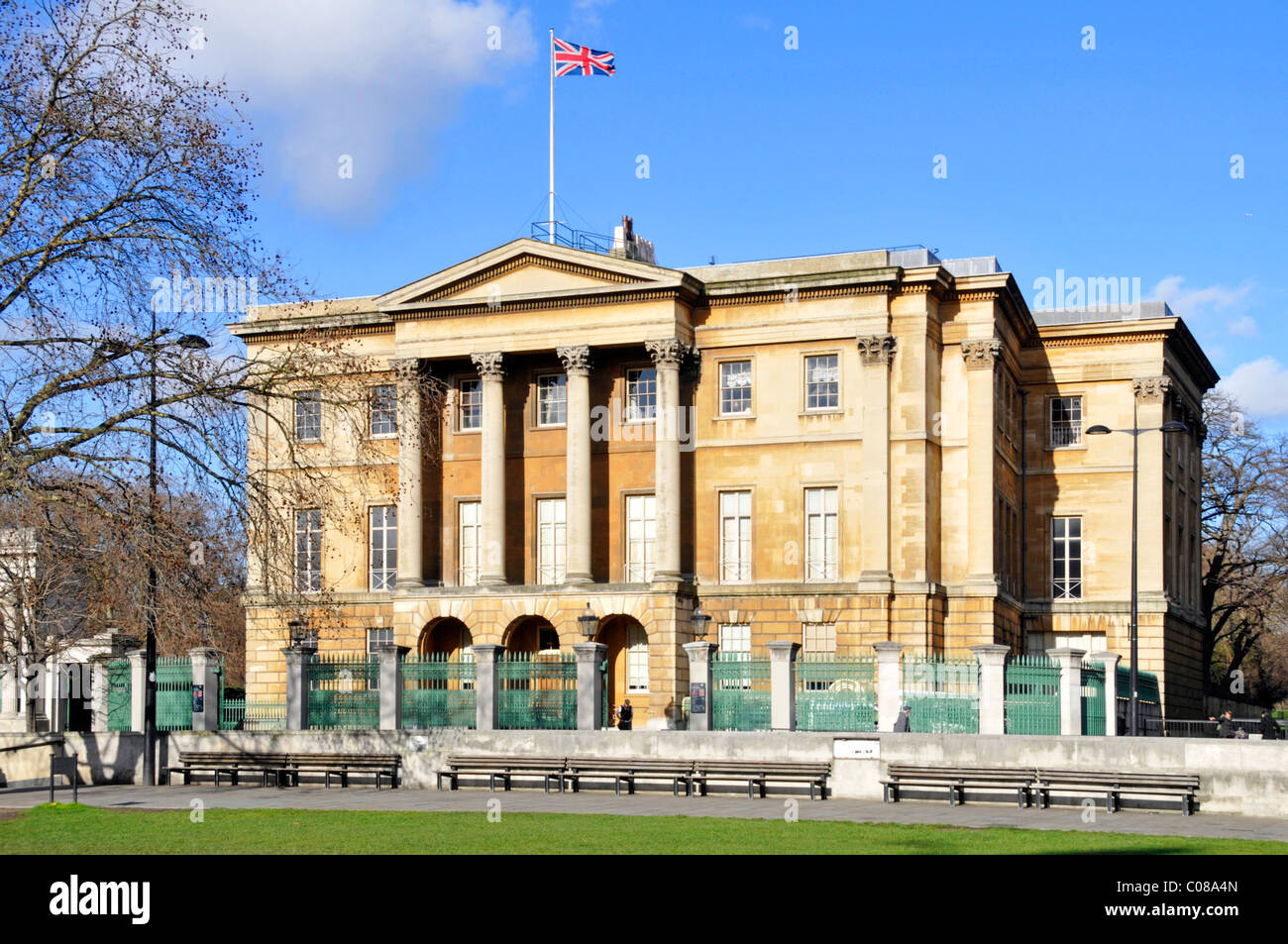 Historical Apsley House London townhouse of Duke of Wellington known as Number One London & open as museum & - Stock Image