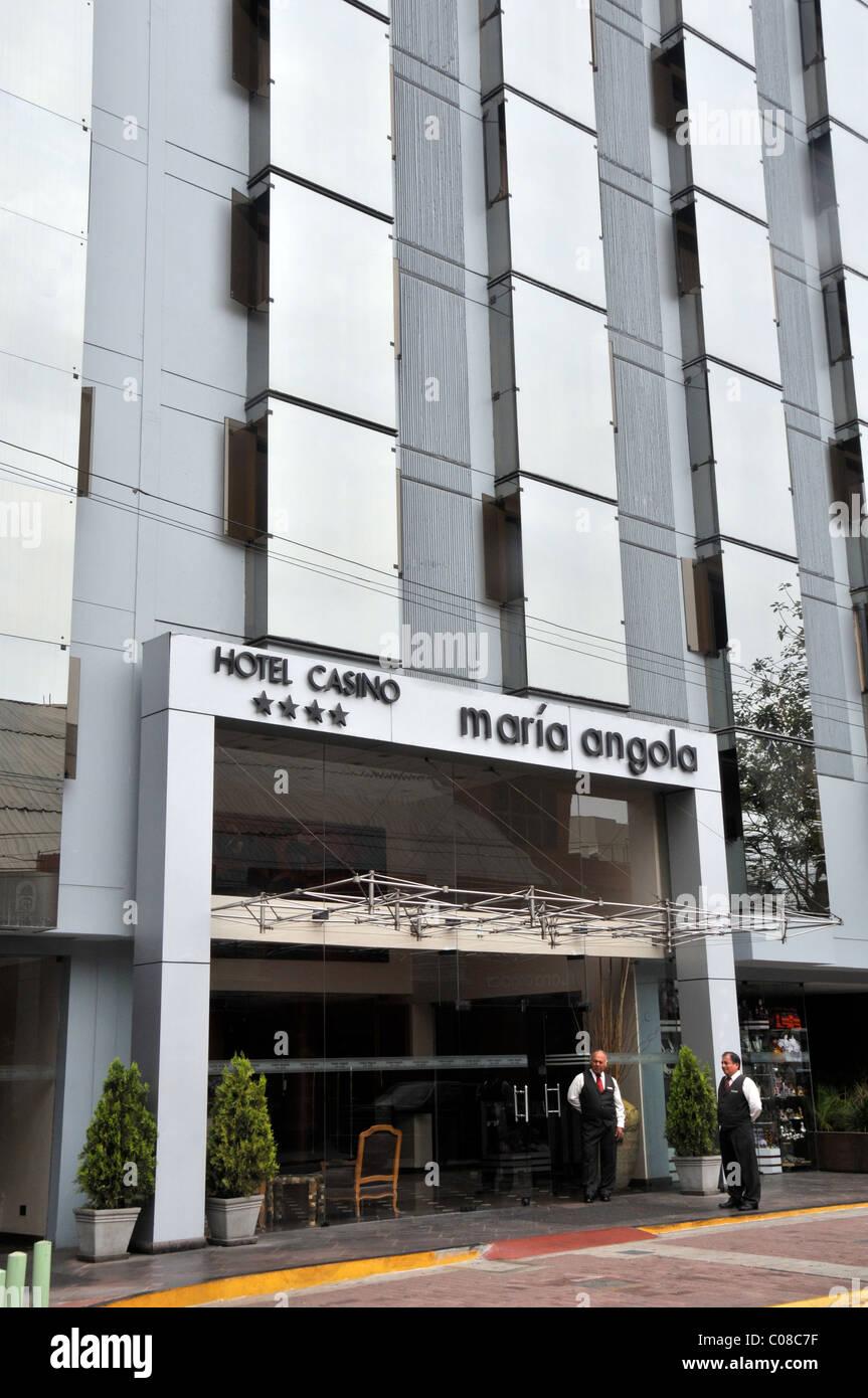 hotel casino Maria Angola Miraflores Lima Peru - Stock Image