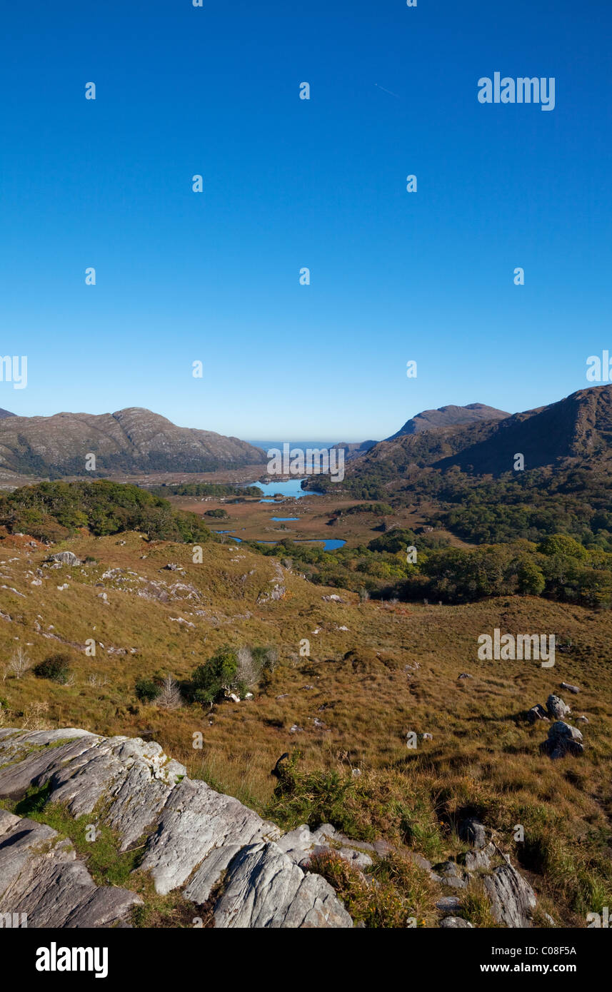 Ladies View, Killarney National Park, County Kerry, Ireland - Stock Image