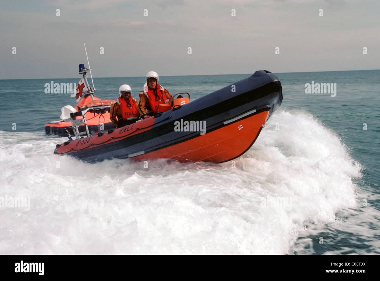 RNLI lifeboat - Stock Image