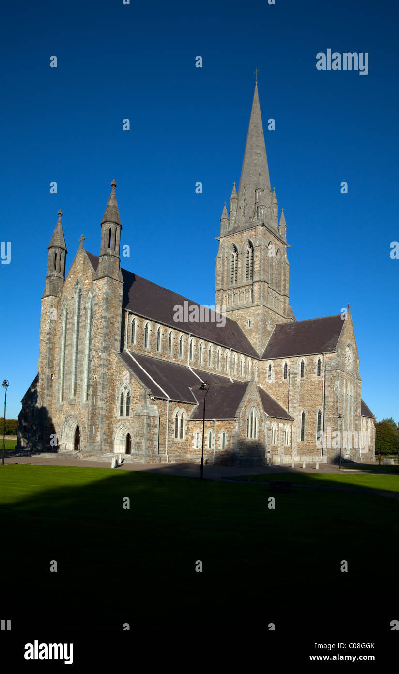 19th Century St Mary's Cathedral, Designed by Augustus Pugin, Killarney Town, County Kerry, Ireland - Stock Image
