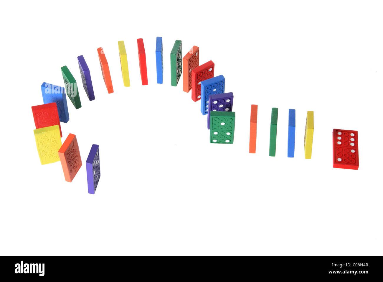Dominoes - Stock Image