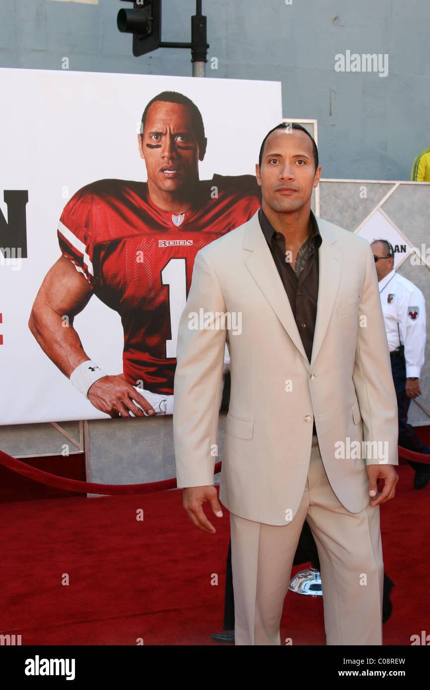 Dwayne Johnson Aka The Rock The Game Plan World Premiere
