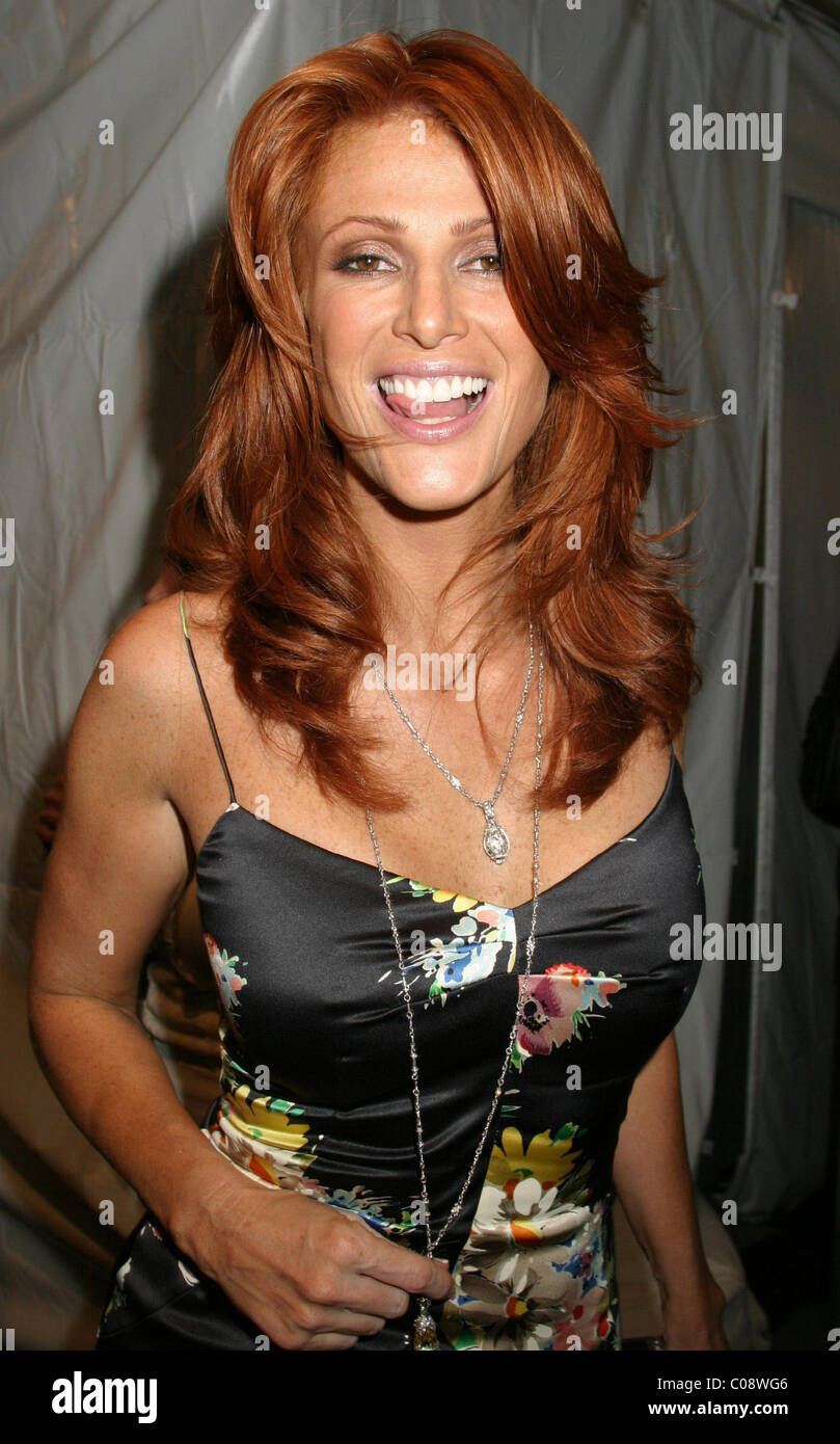 Angie Everhart swimwear