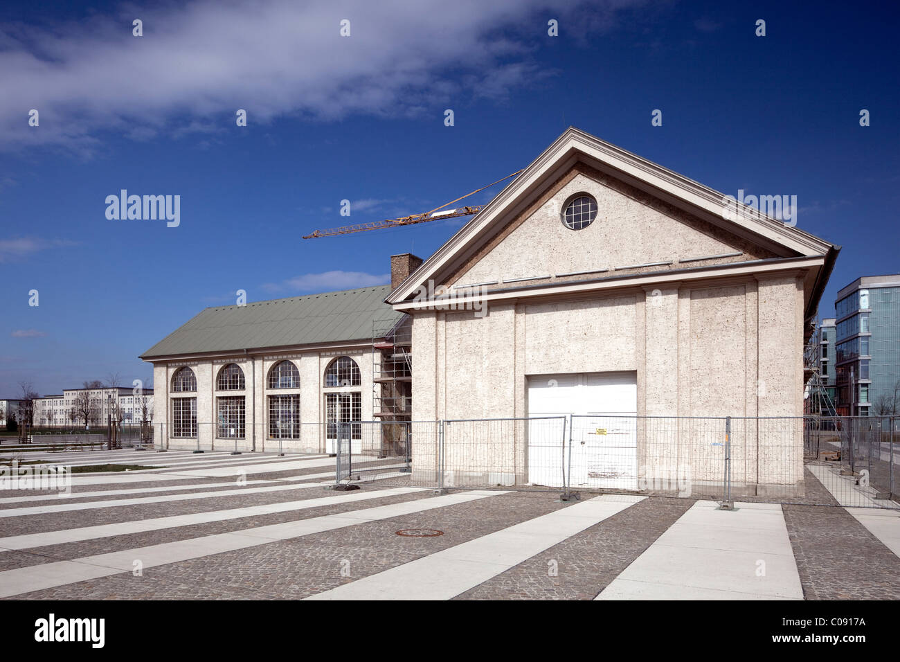 Forum in the Wissenschaftsstadt Adlershof Science City, Berlin, Germany, Europe Stock Photo