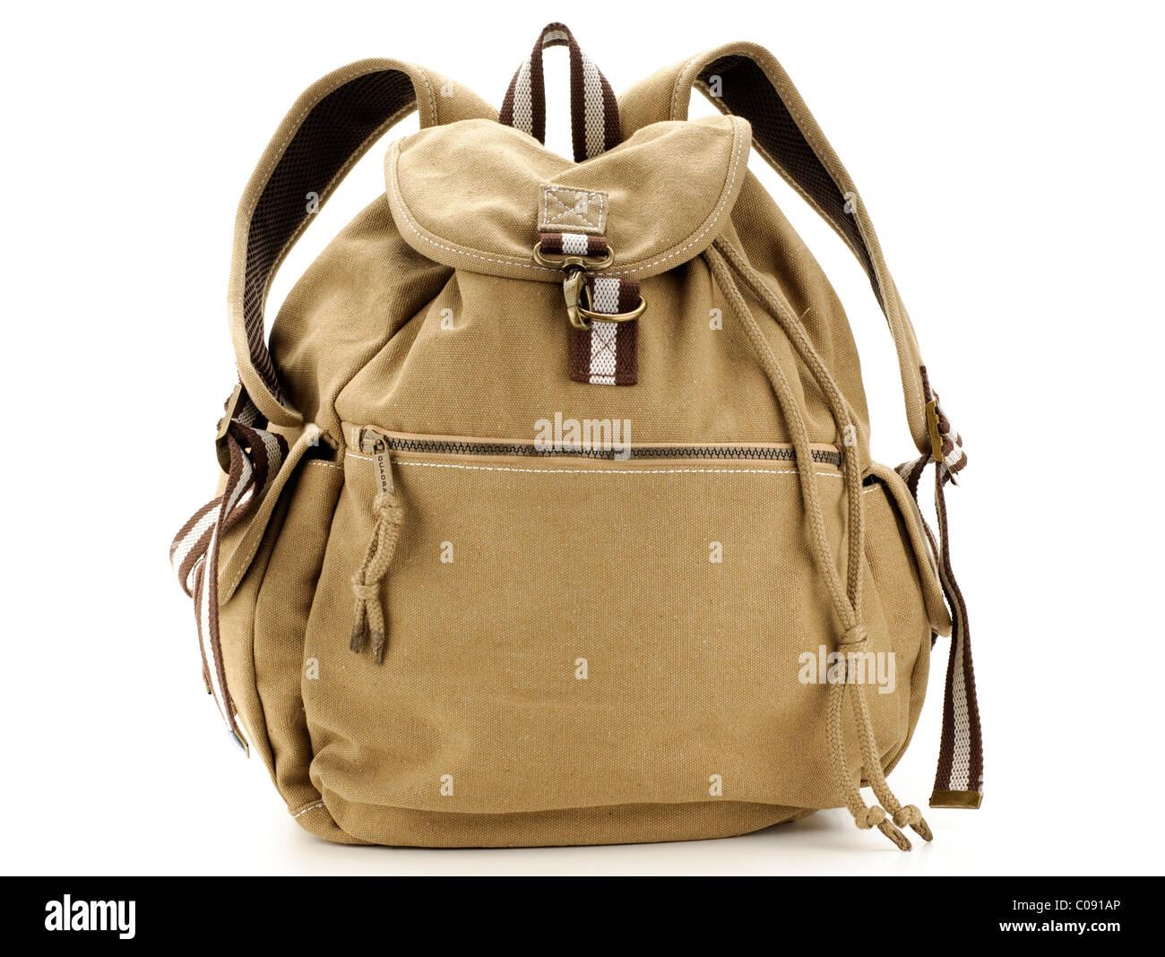 Small Quadra canvas rucksack - Stock Image