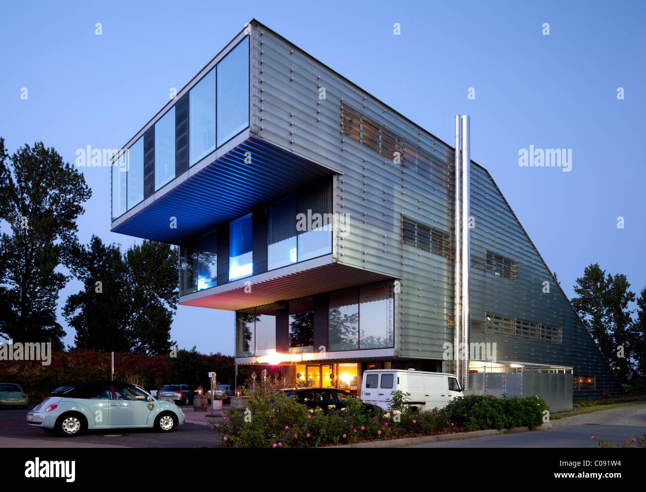 Office building, Stadtkrone Ost, Dortmund, Ruhr Area, North Rhine-Westphalia, Germany, Europe - Stock Image