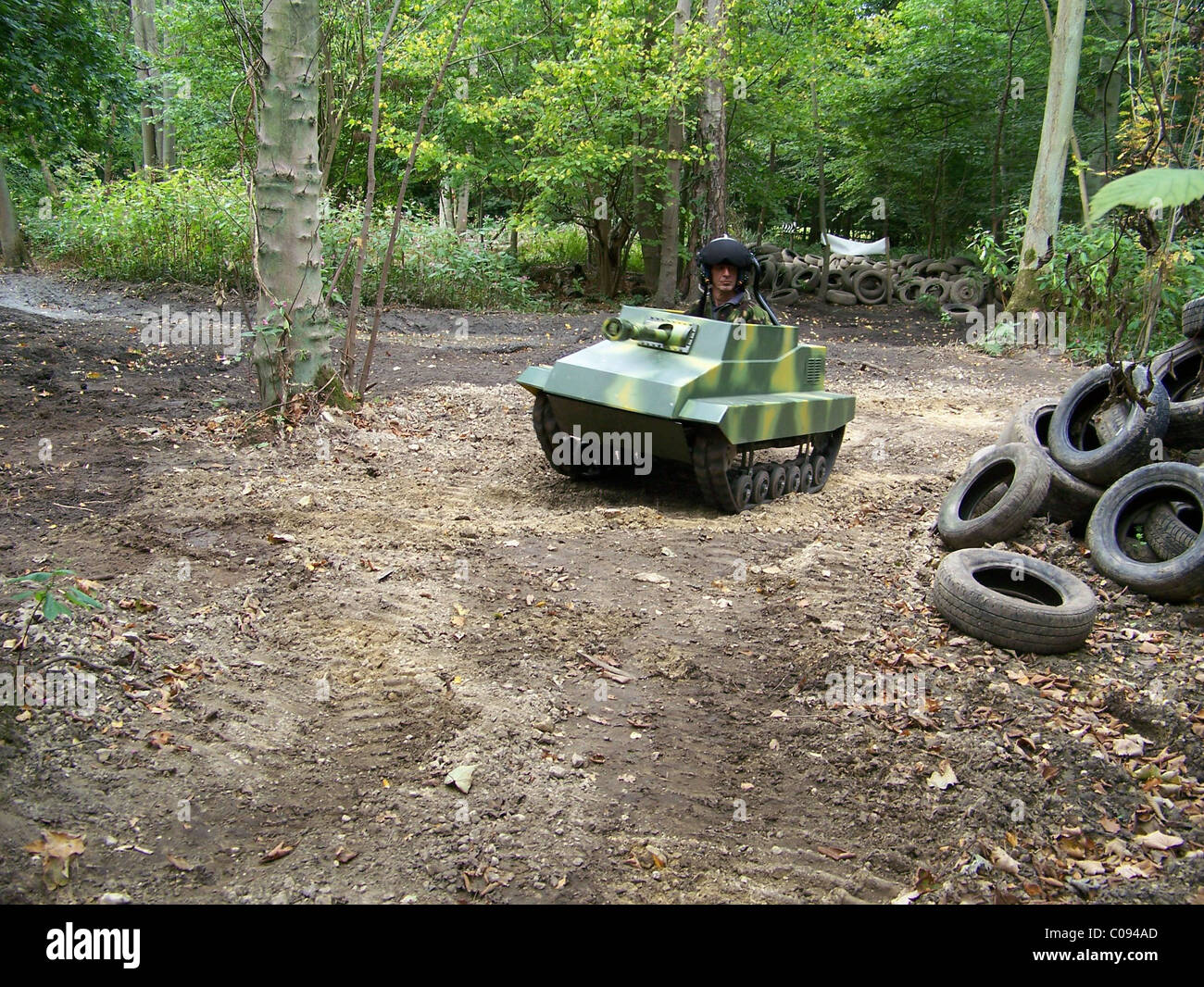 paintball panzer funtrak massively scaled stock photos. Black Bedroom Furniture Sets. Home Design Ideas
