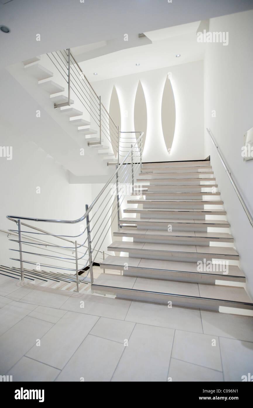 Staircase, Hotel Amfora, Hvar Island, Croatia, Europa - Stock Image