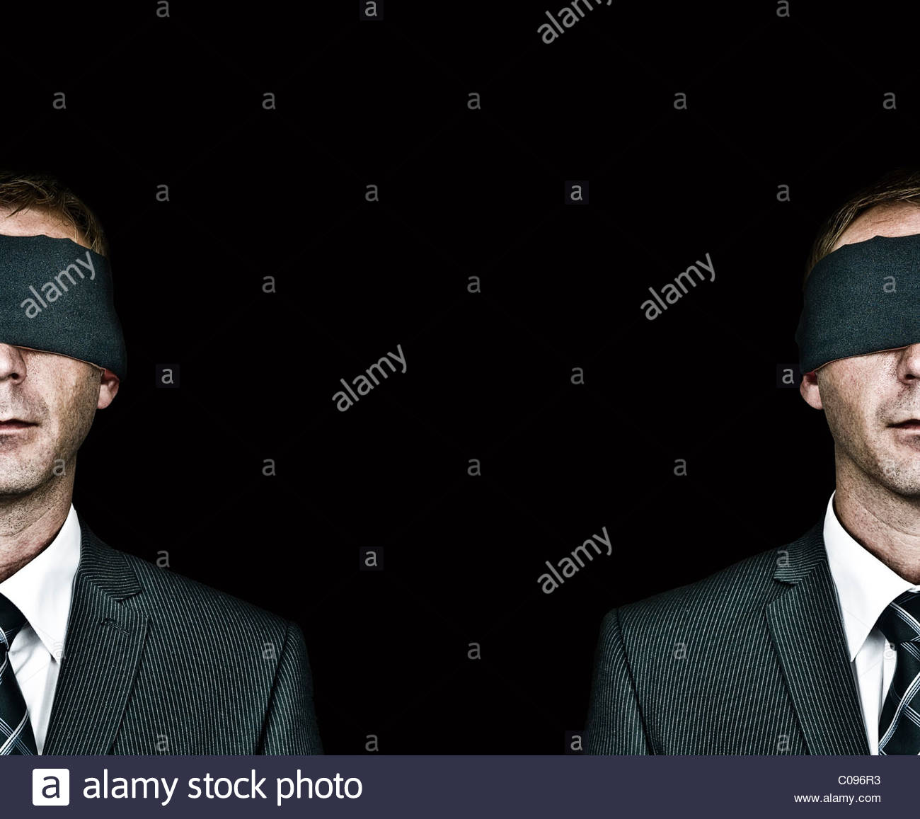 Split personality - Stock Image