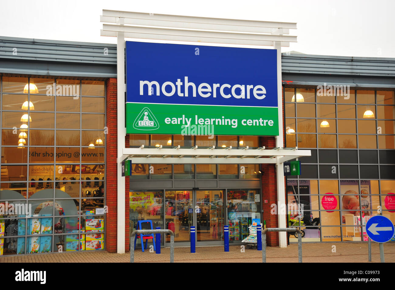 Mothercare Store front - Stock Image