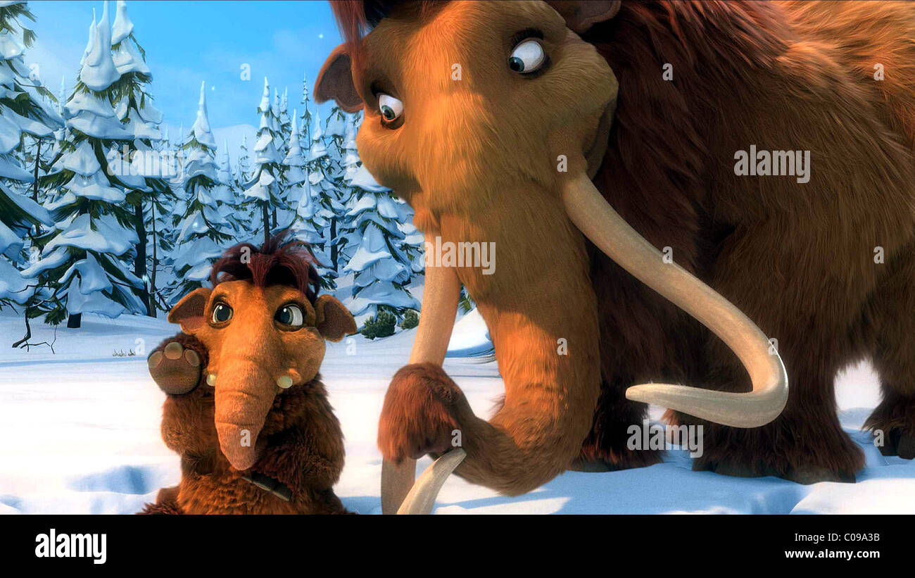 peaches & ellie ice age: dawn of the dinosaurs; ice age 3 (2009