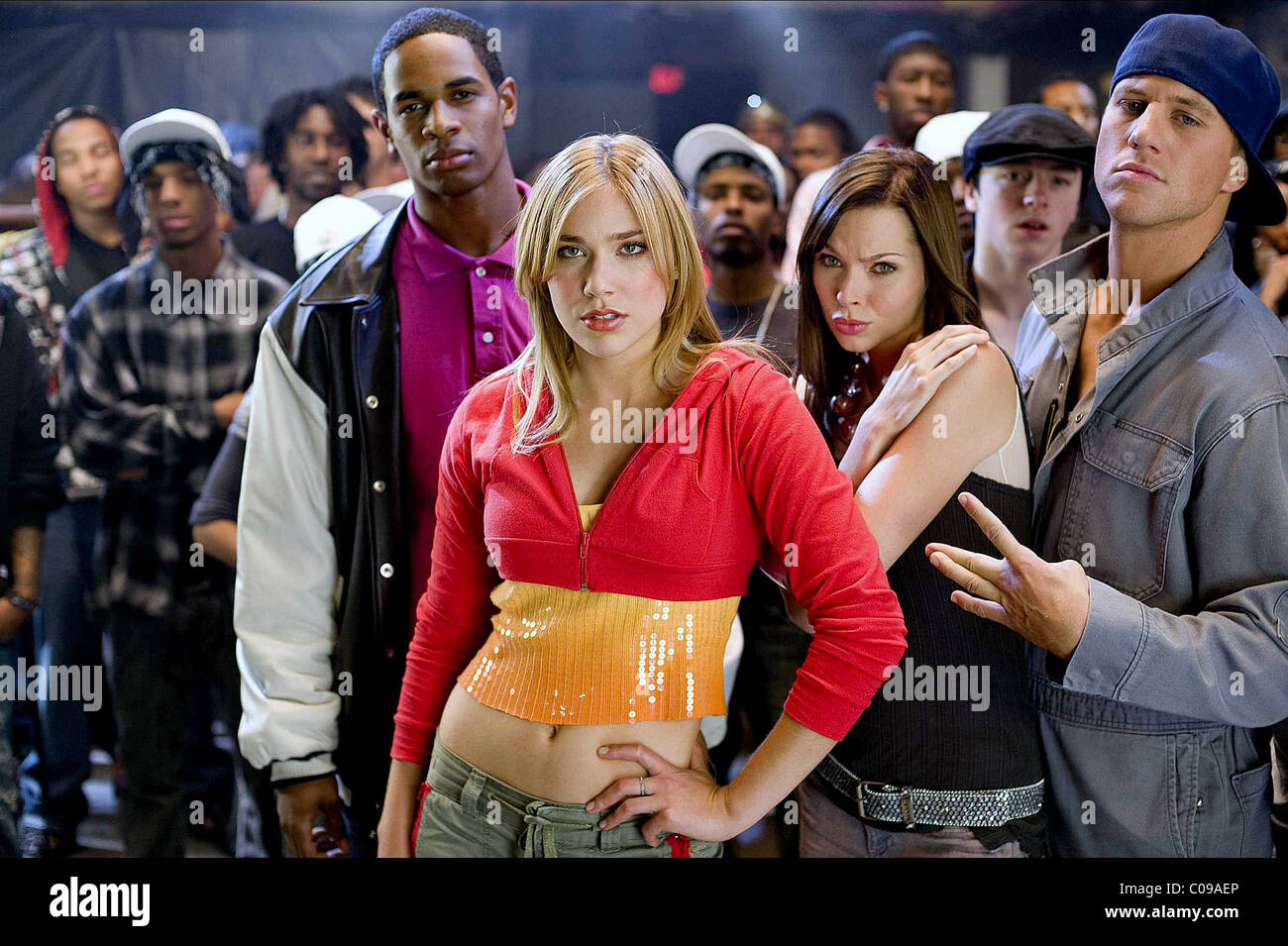 SHAWN WAYANS SHOSHANA BUSH CHRISTINA MURPHY & ROSS THOMAS DANCE FLICK (2009) - Stock Image