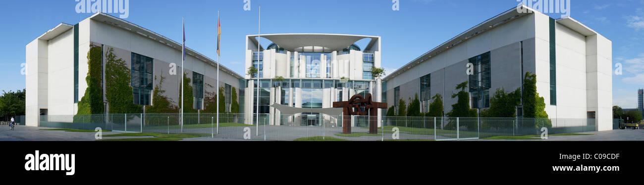 Bundeskanzleramt or Federal Chancellery, Regierungsviertel government district, Berlin, Germany, Europe - Stock Image