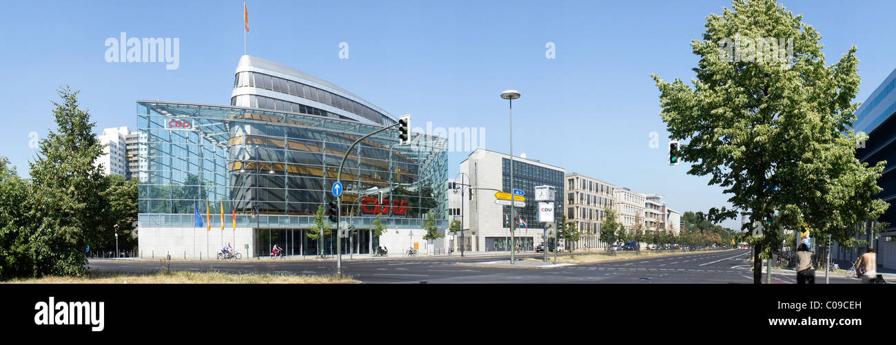 CDU headquarters in Berlin, Germany, Europe - Stock Image