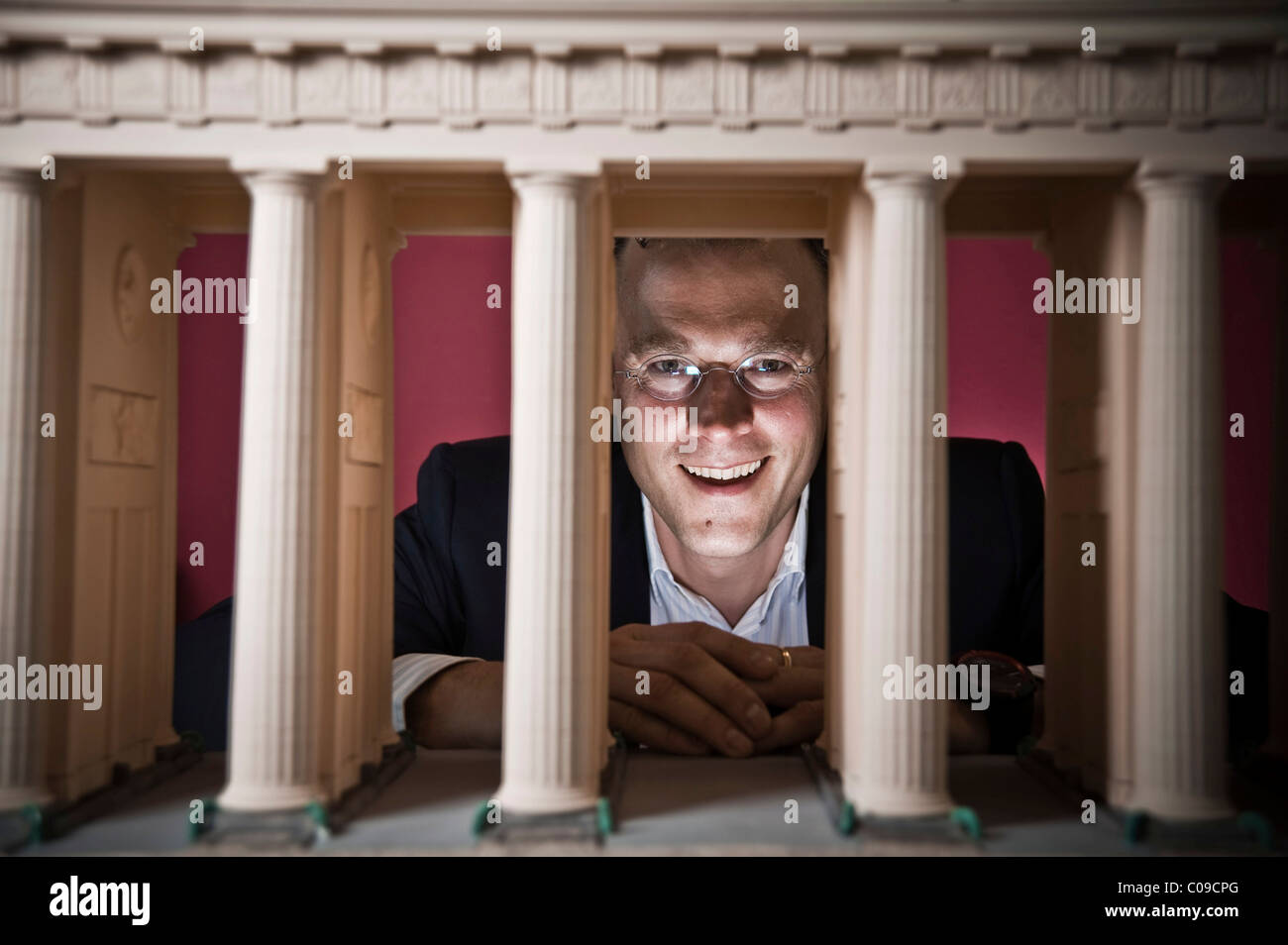 Karl Matthaeus Schmidt, CEO Quirin Bank AG, Berlin, Germany, Europe - Stock Image