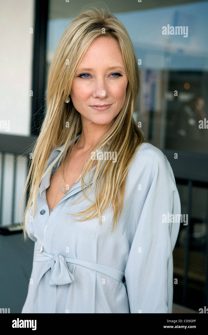 ANNE HECHE SPREAD (2009) - Stock Image