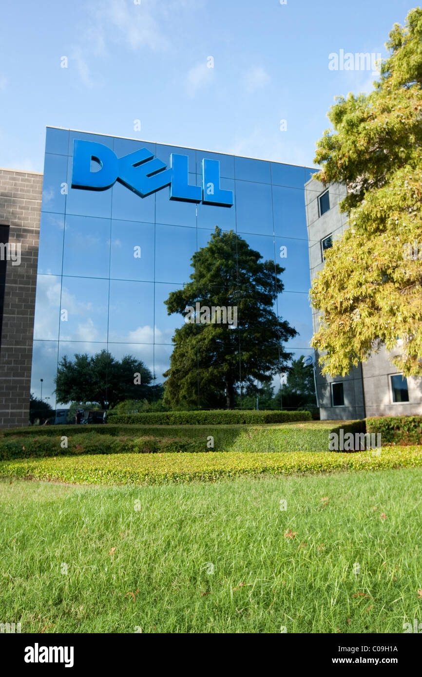 Corporate headquarters of Dell Inc., a mulitnational computer and information-technology company based in Round Stock Photo