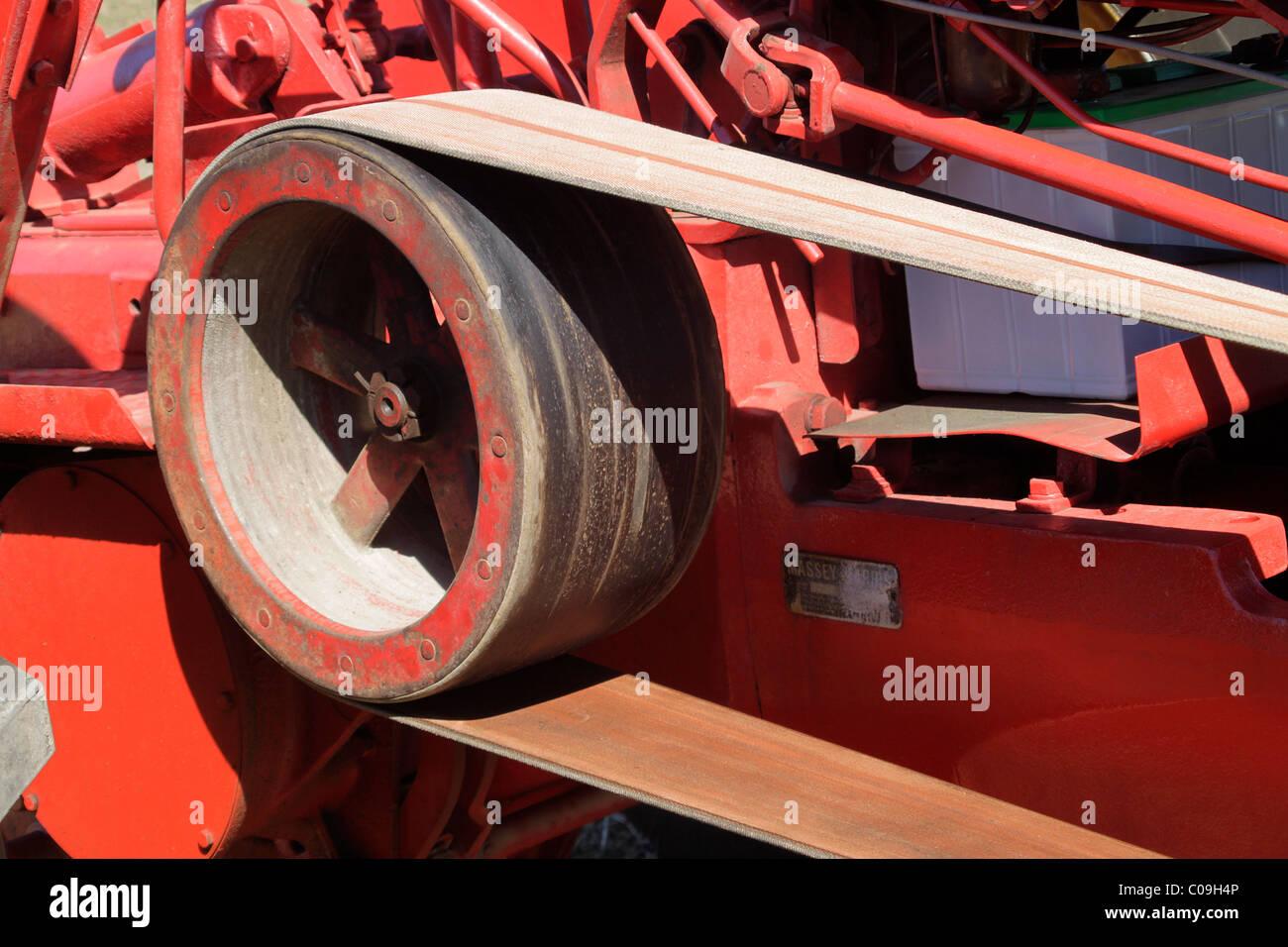 Farm Machinery Belts : Belt drive stock photos images alamy