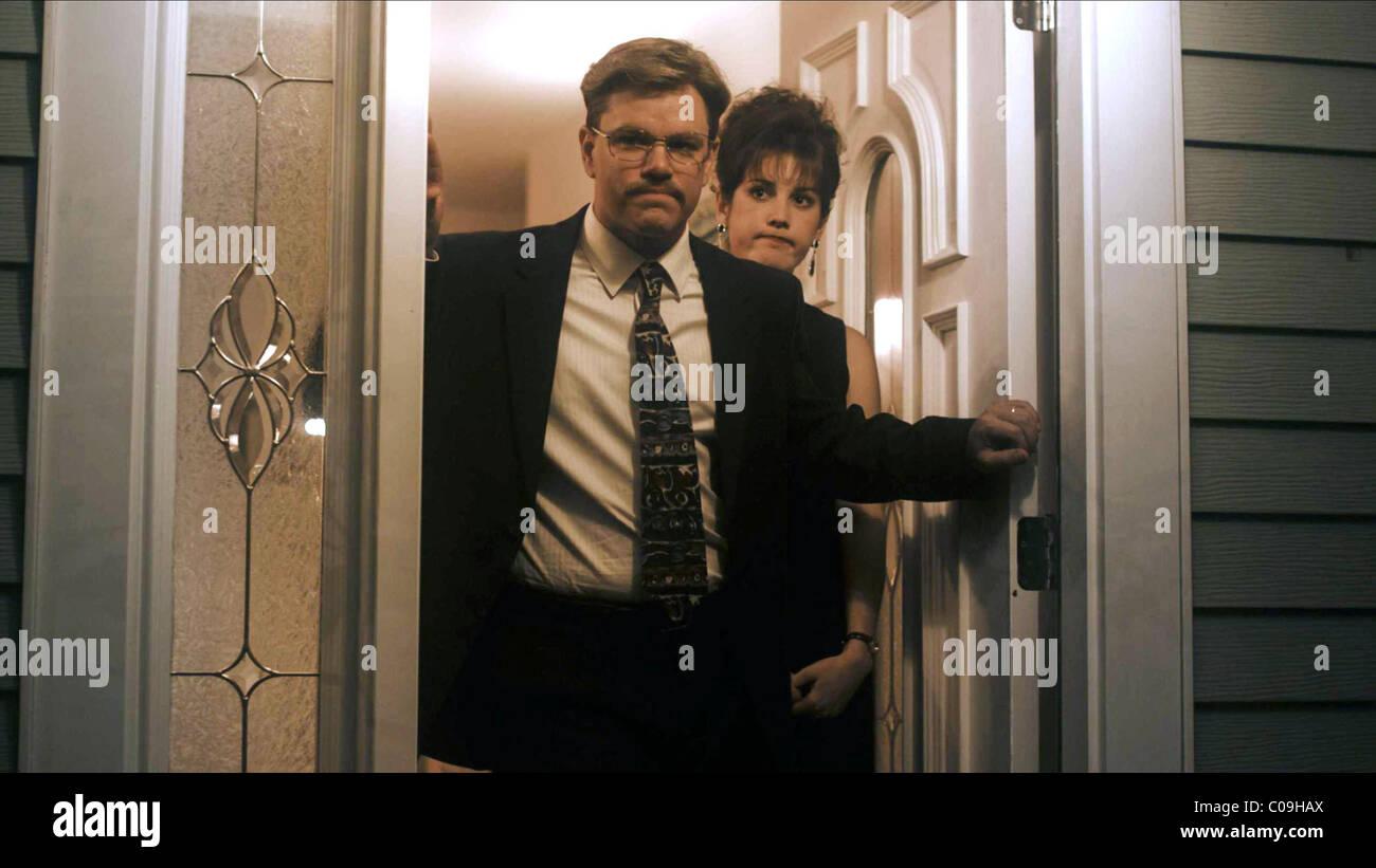 MATT DAMON & MELANIE LYNSKEY THE INFORMANT! (2009) - Stock Image