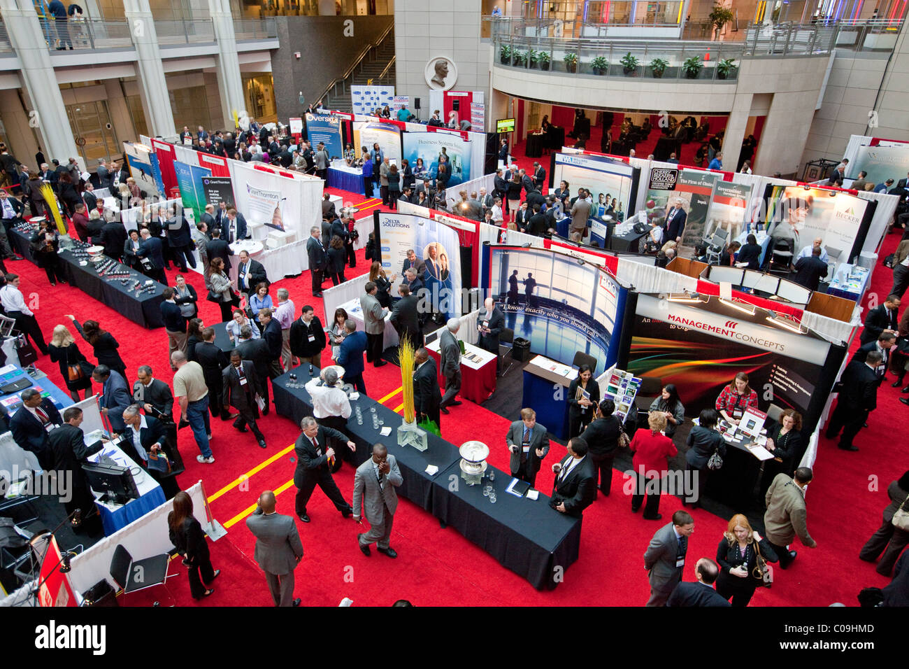 AGA Association of Government Accountants Ninth Annual National Leadership Conference, Ronald Reagan Building, Washington - Stock Image