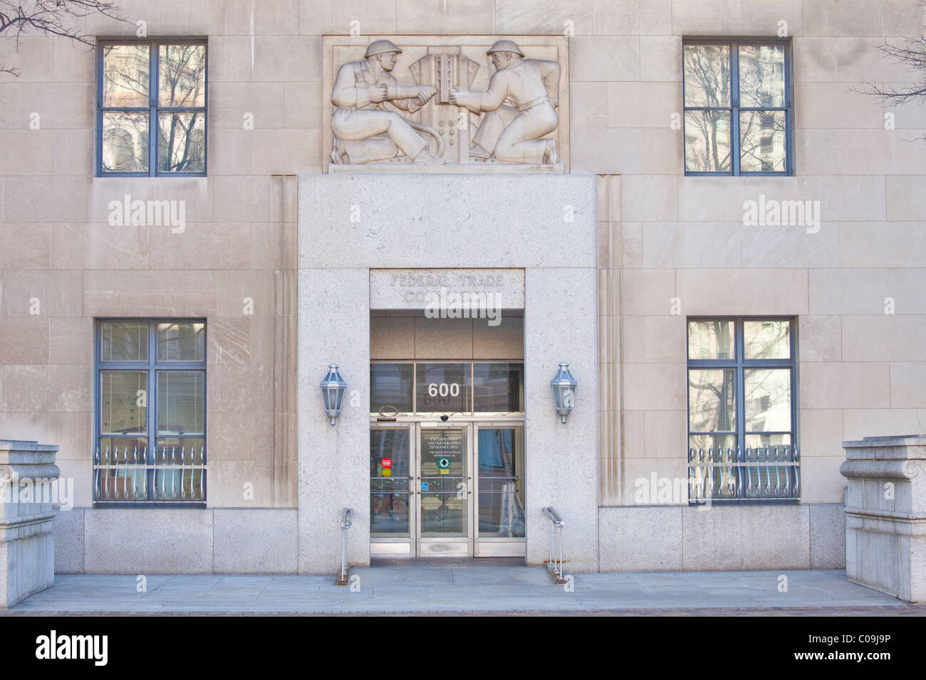 FTC, Federal Trade Commission Building in Washington DC - Stock Image