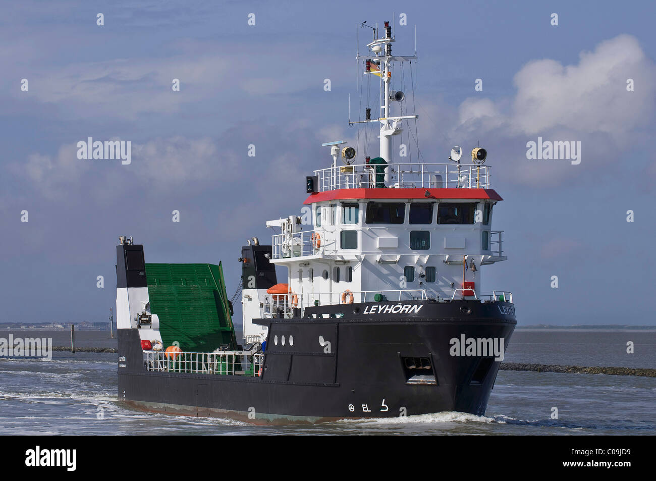 Multi-purpose vessel, Leyhoern, from the Lower Saxony Water Management, Coastal Defence and Nature Conservation - Stock Image