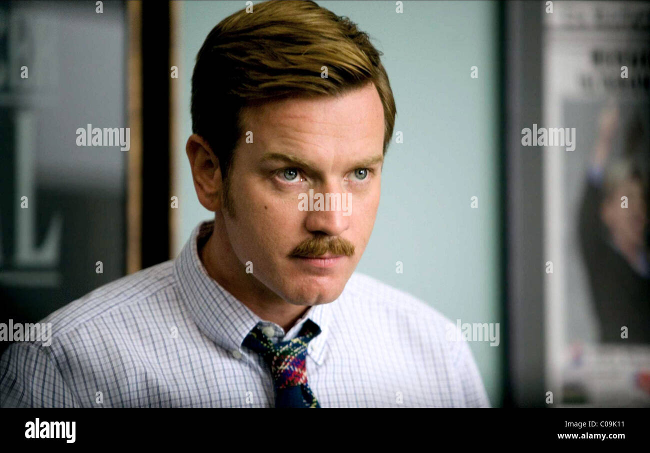 EWAN MCGREGOR THE MEN WHO STARE AT GOATS (2009) - Stock Image