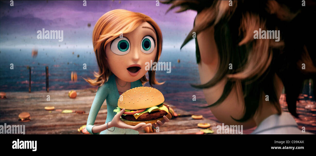 Sam Cloudy With A Chance Of Meatballs 2009 Stock Photo Alamy