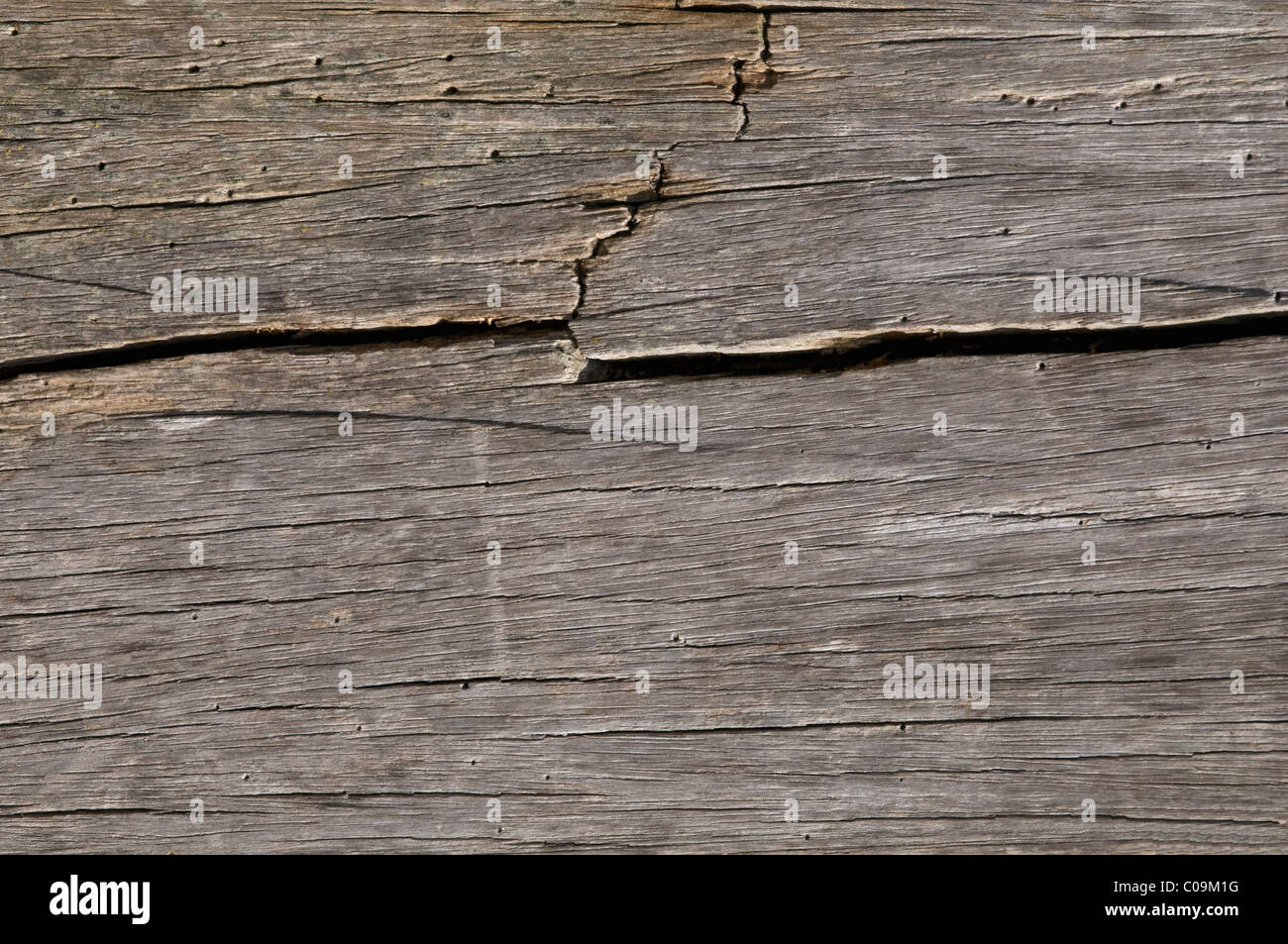 Detail old wooden board, background - Stock Image