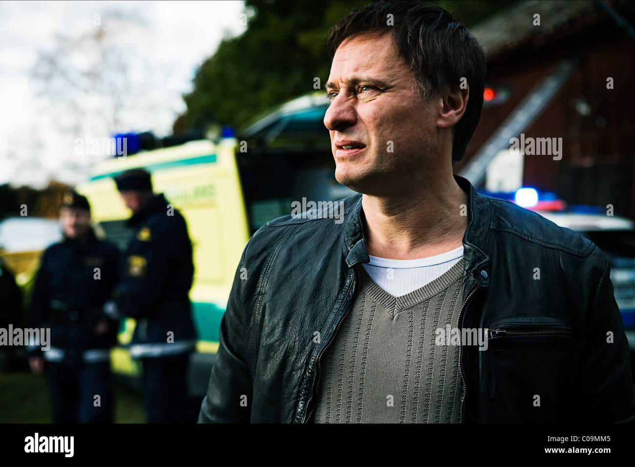 MICHAEL NYQVIST THE GIRL WHO PLAYED WITH FIRE (2009) - Stock Image