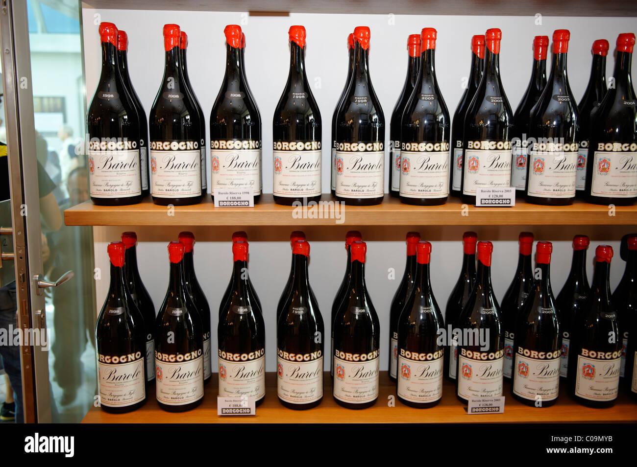 Barolo, wine production, Borgogno, Piedmont, Italy, Europe Stock Photo