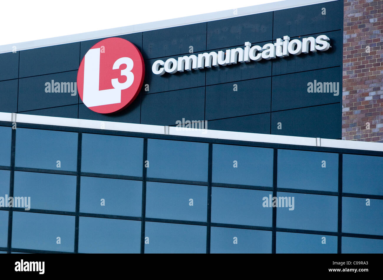 A L3 Communications office building. Stock Photo