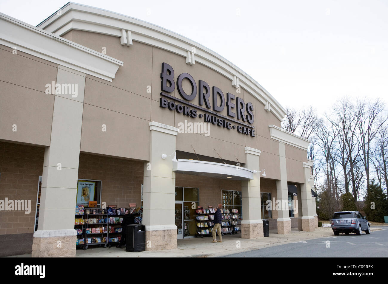 A Borders bookstore.  - Stock Image