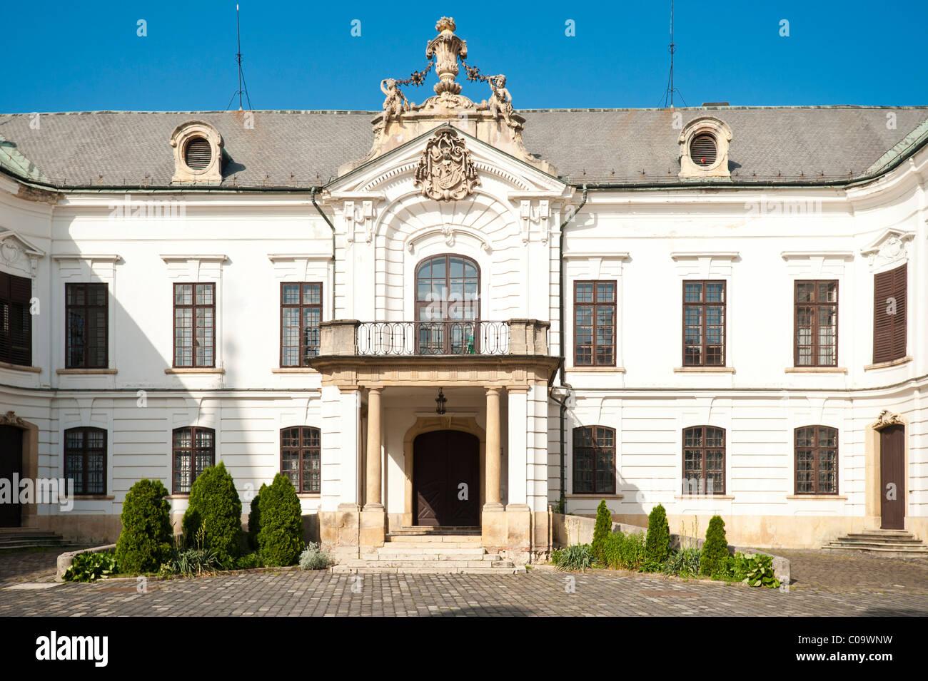 Archbishop's Palace, Veszprem, Weissbrunn, Hungary, Europe - Stock Image