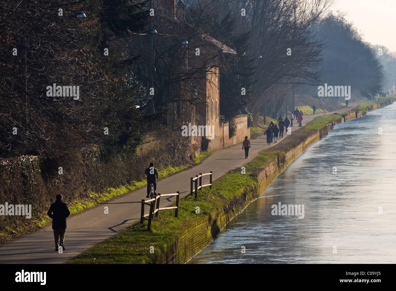 Robecco sul Naviglio, Milan province, Italy Stock Photo