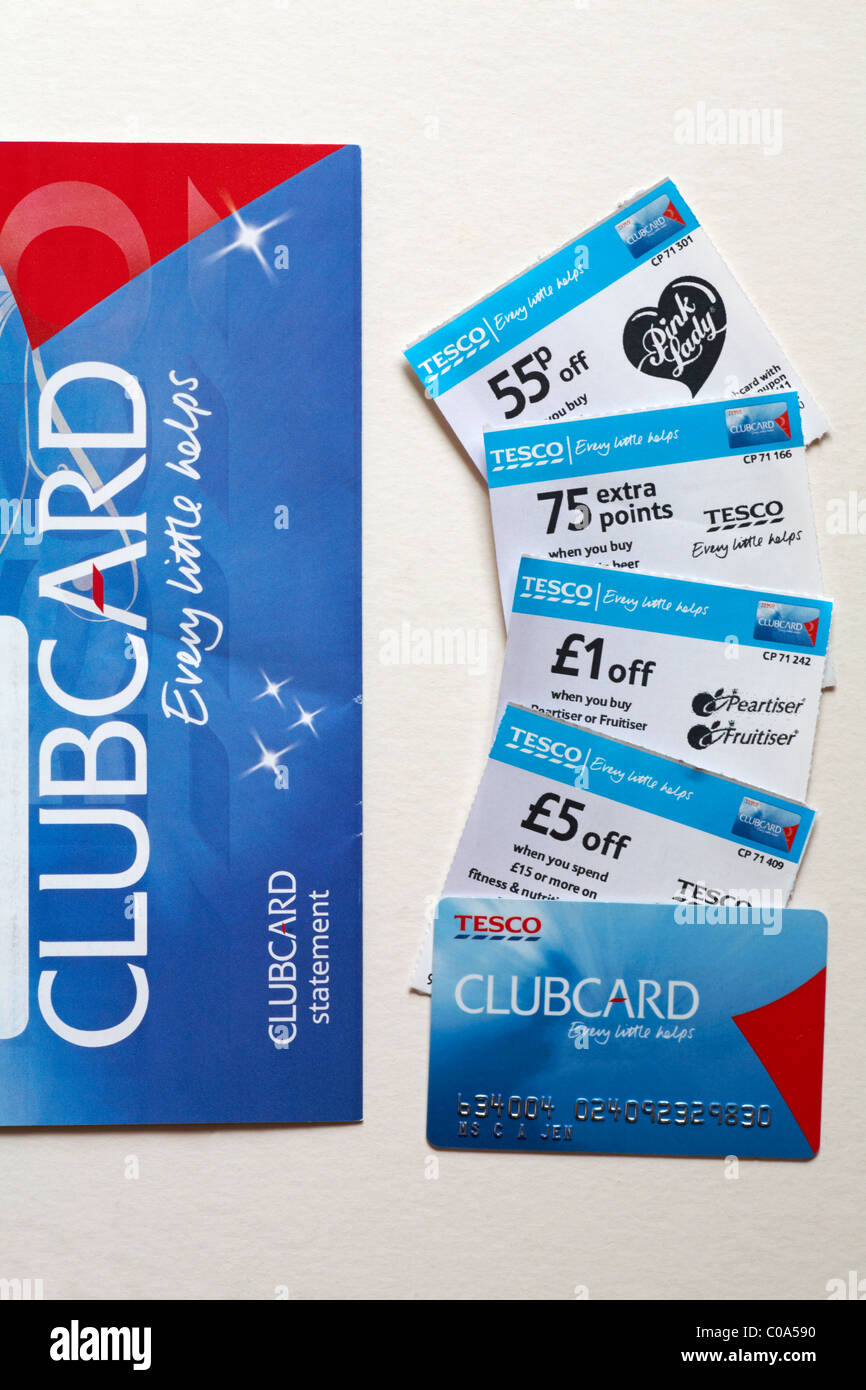 Clubcard coupons