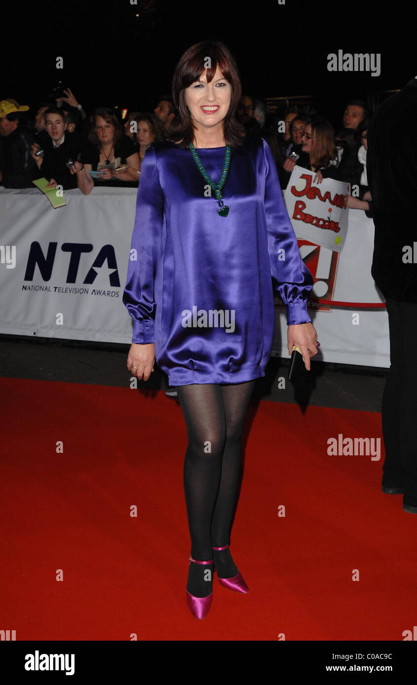 Janet Street Porter National Television Awards held at the Royal Albert Hall - Arrivals London, England - 31.10.07 - Stock Image